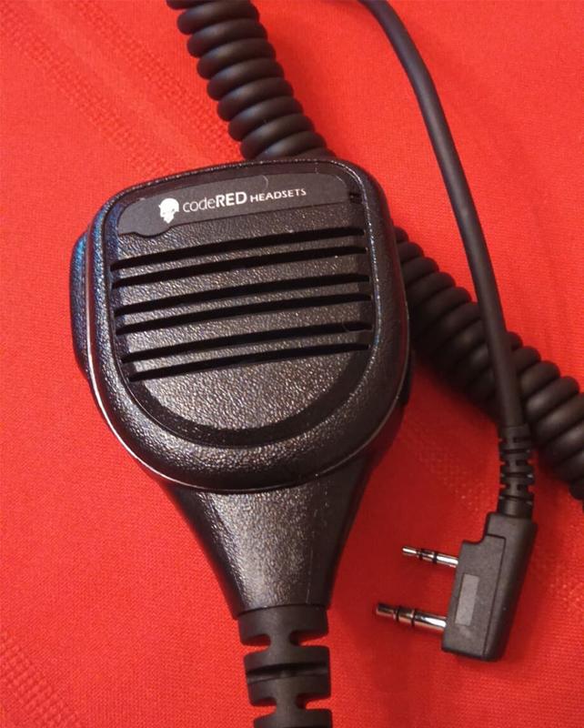 Code Red Headsets Signal 21 Speaker Mics