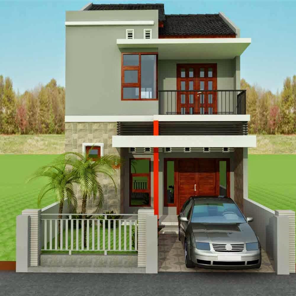 Desain Rumah Minimalis 2 Lantai Type 36 Terbaru