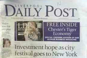 Newspaper liverpool daily post