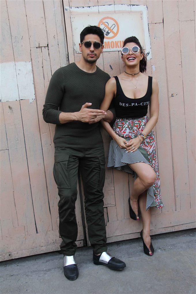 Jacqueline Fernandez A Gentleman Movie Promotion In Mumbai