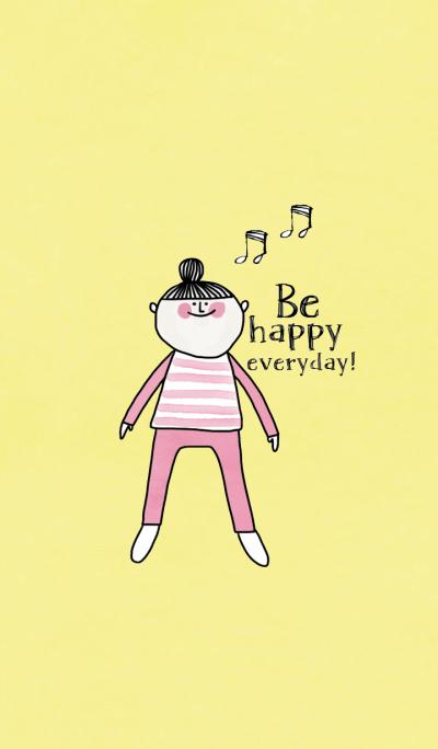 Cake, Be happy everyday.