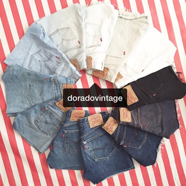 Levis Vintage Modelos Y Guia De Talla Dorado Vintage Tienda Vintage Online Ropa Complementos Originales Retro Pin Up