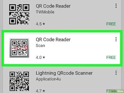 كيفية مسح وقراءة اكواد الكيو آر(QR) على الأندرويد
