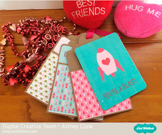 Lori Whitlock Mini Tag Album and Valentine Fun