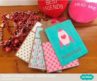 Lori Whitlock Mini Tag Album and Valentine Fun