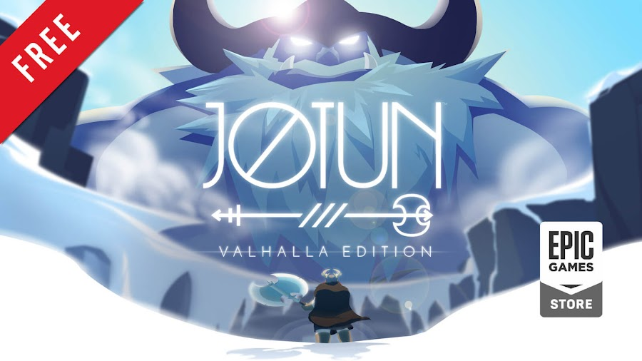 jotun valhalla edition free pc game epic games store viking action adventure indie thunder lotus games