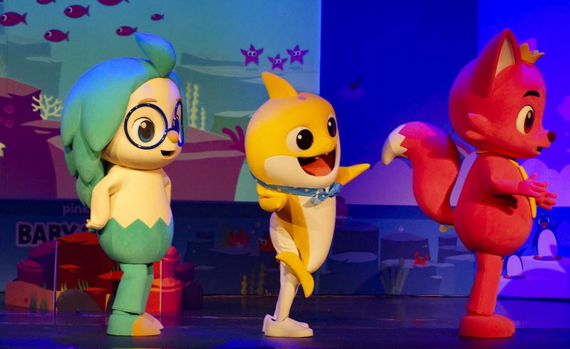 Η επίσημη θεατρική παράσταση του Pinkfong με τον Baby Shark στην Αλεξανδρούπολη