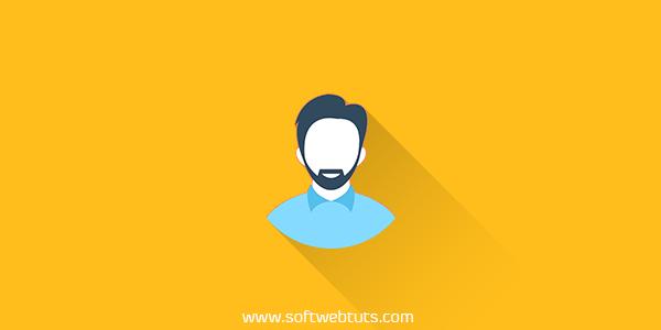 Floating Author Profile Revealer HTML+CSS+JS