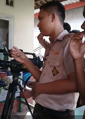 Siswa SMK Belajar jadi Sutradara Perfileman