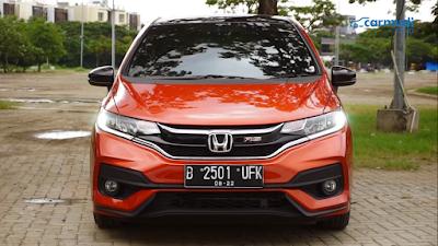 Honda Jazz GK Tampak Bagian Depan