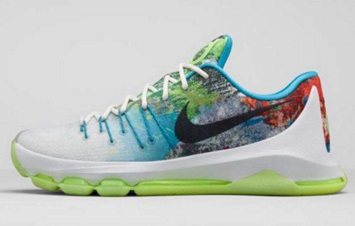 buy popular 10ac8 9a348 Nike KD 8 N7 Shoe (Images + Release Date Info)