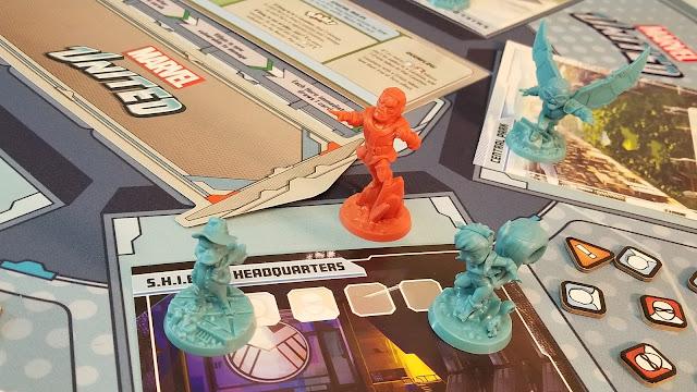 Marvel United tabletop game