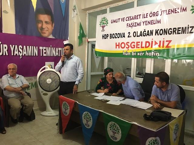HDP Bozova ilçe kongresi gerçekleşti