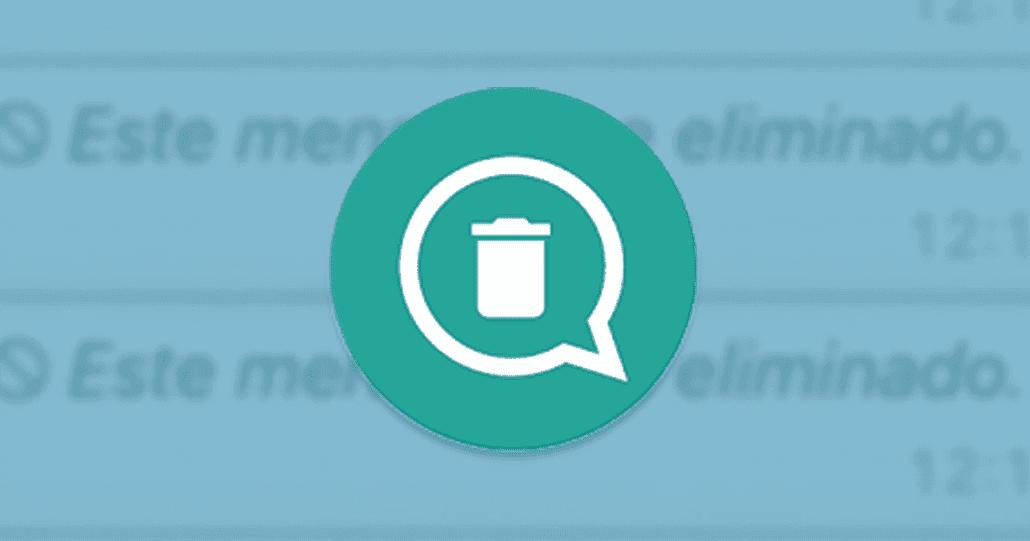 التخلص من رسالة (تم حذف الرسالة) من التطبيقات ، استرجاع الرسائل المحذوفة من الواتساب