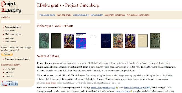 Situs Penyedia  Download Ebook Gratis Secara Online