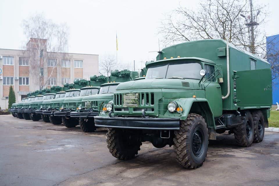 Танкоремонтні майстерні ТРМ-80 на шасі ЗіЛ-131