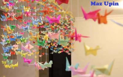 Cara Membuat Origami Kupu-Kupu Lucu Dari Kertas Lipat