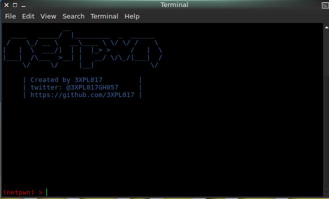 Netpwn A framework made to auto tasks pentesting written in python