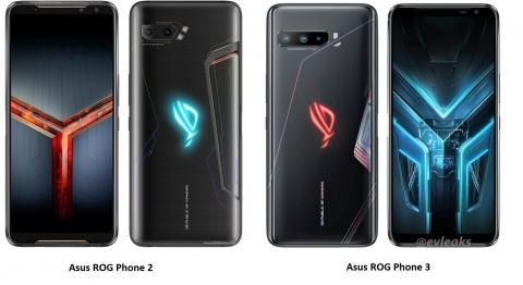 Perbandingan Asus ROG Phone 2 vs Asus ROG Phone 3