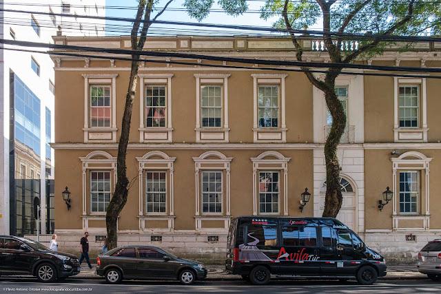 A antiga sede da Sociedade Beneficente Rio Branco
