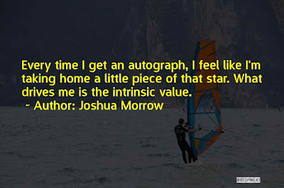 Excellence Autograph Quotes