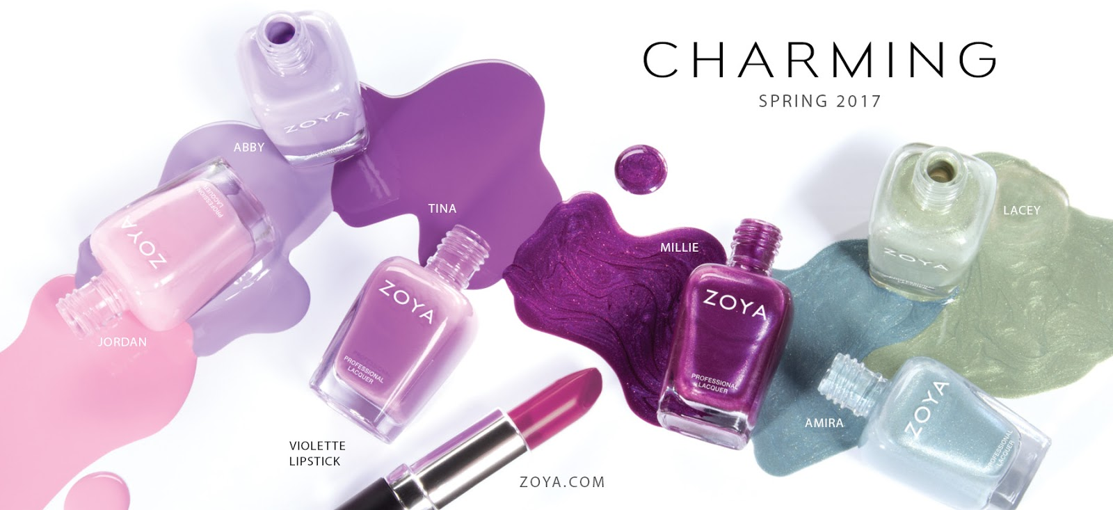 ehmkay nails: Press Release: Zoya Charming for Spring 2017