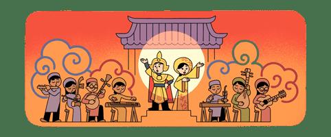 Google tôn vinh nghệ thuật Cải Lương