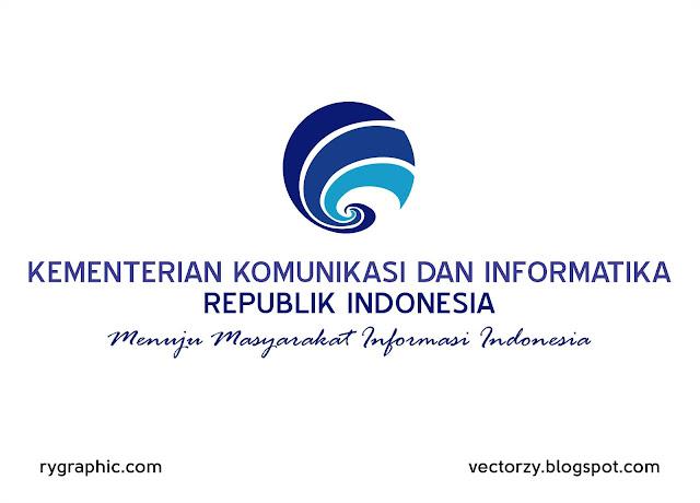 Logo Kominfo Vektor Cdr CorelDraw