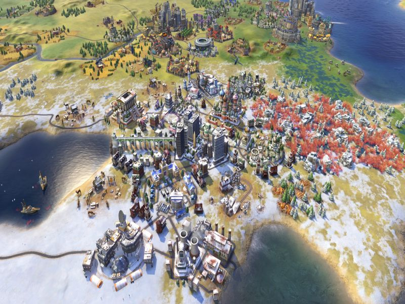 Download Sid Meier's Civilization VI Rise and Fall Game Setup Exe