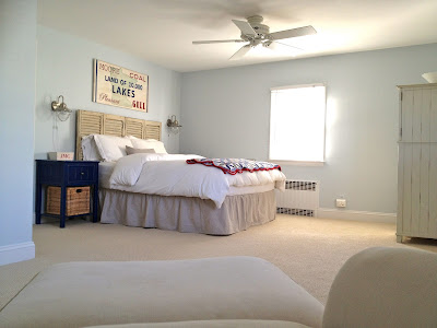 master bedroom minor makeover