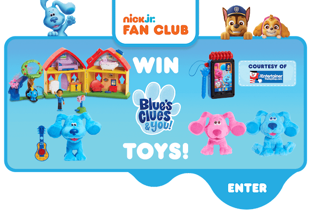 Win Blue's Clues & You toys!