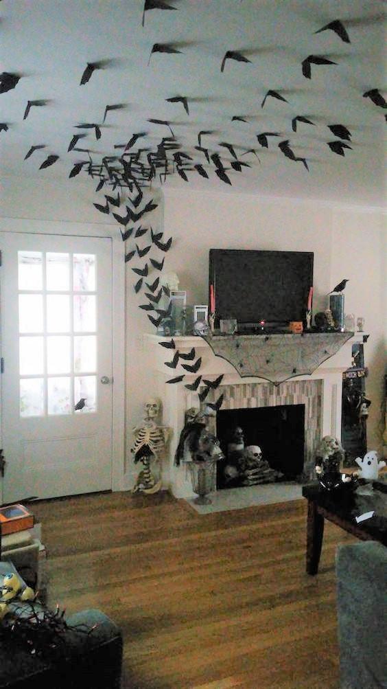 82 Easy Halloween Decorations Party Diy Decor Ideas