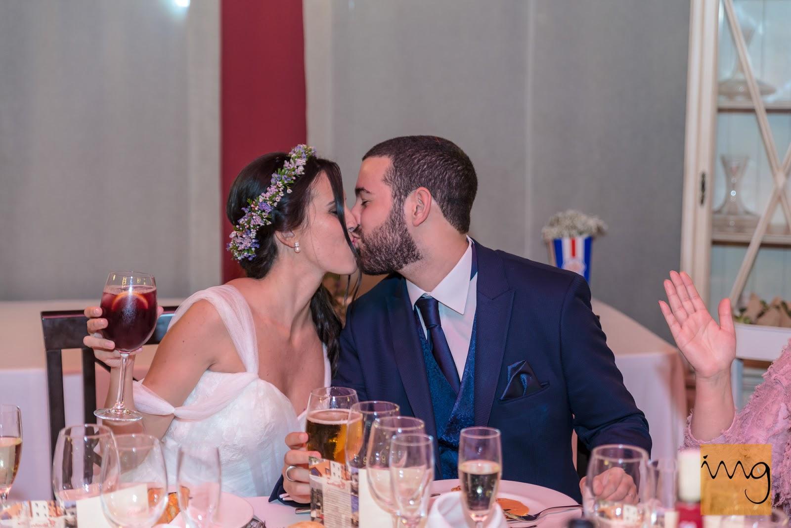 Reportaje de boda en la celebración