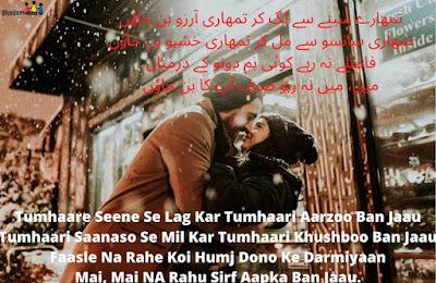 Love shayari urdu best