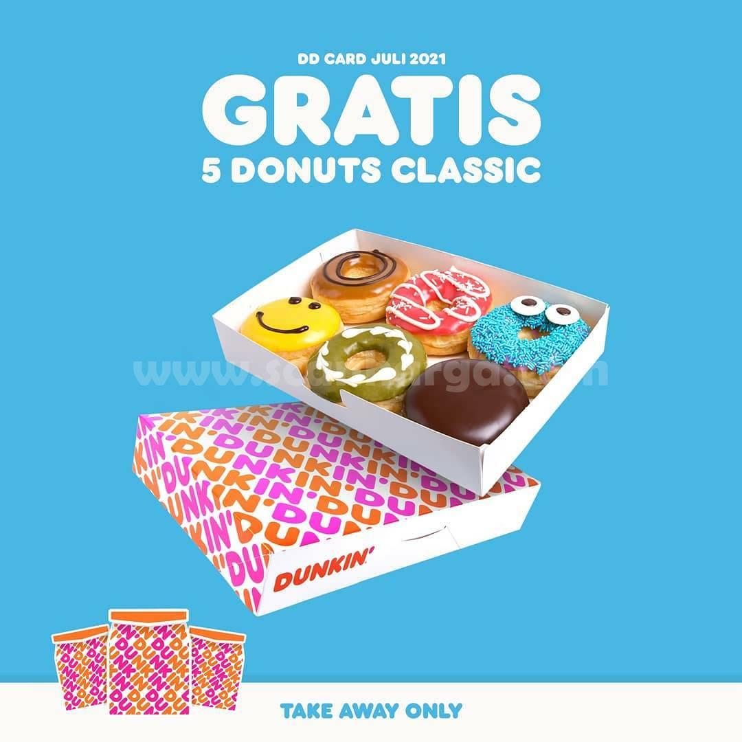 Promo Dunkin Donuts Beli 7 Gratis 5 Donuts Classic