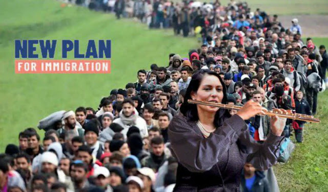 MEME UPDATE: PRITI PATEL ANNOUNCES BRITAIN'S NEW IMMIGRATION PLAN