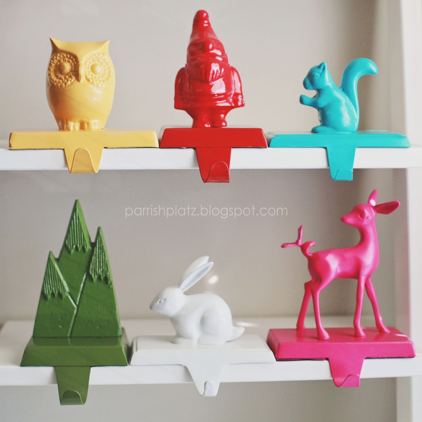 Parrish Platz Diy Woodland Stocking Hangers