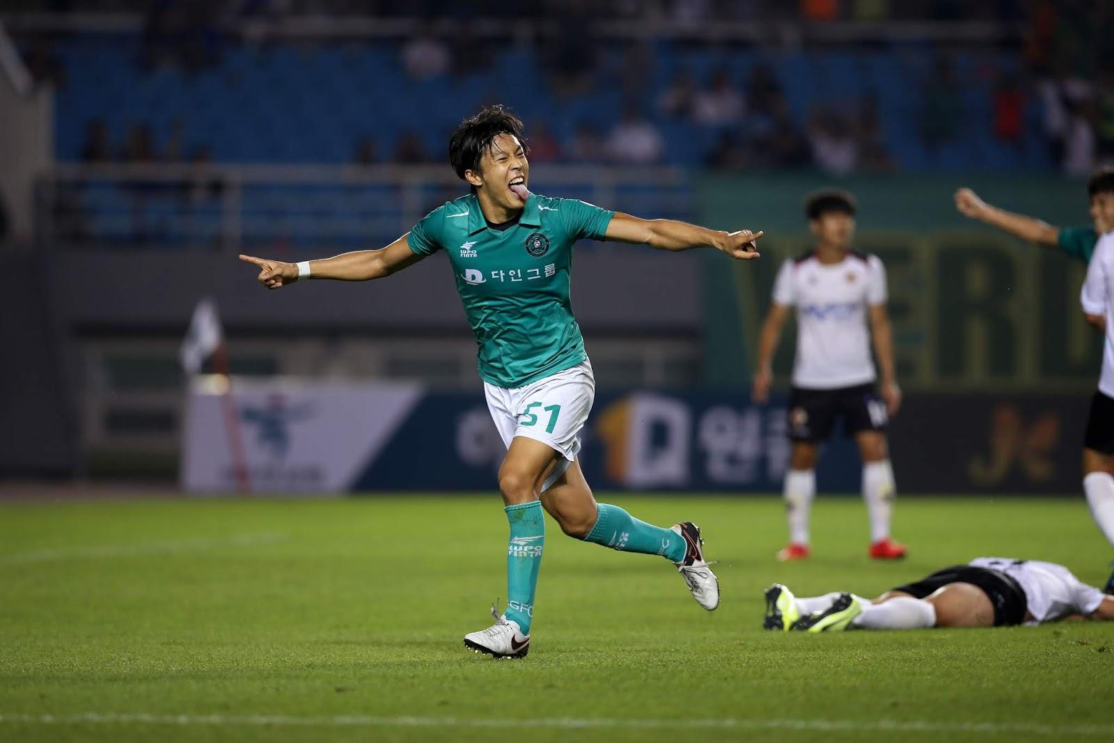 Ansan Greeners, Gwangju FC, Masatoshi Ishida