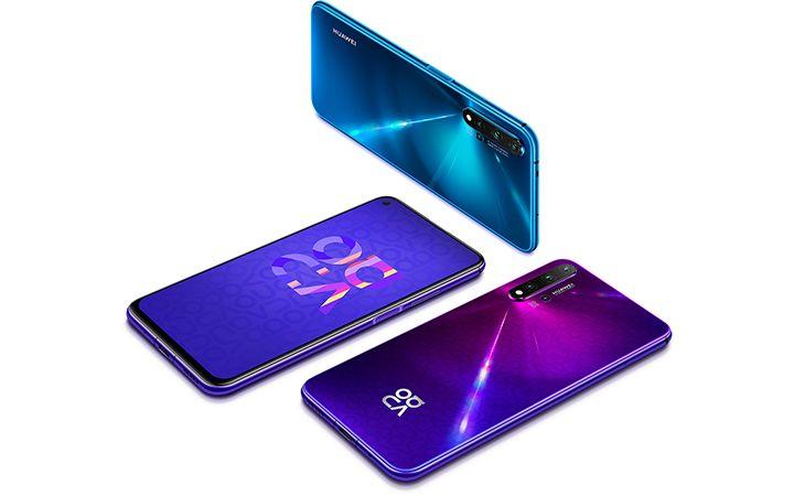 تعرف على مواصفات هاتف Nova 5T الجديد من هواوي