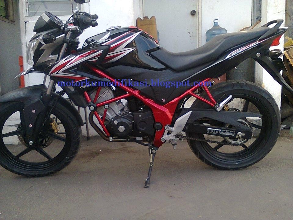 Kumpulan Gambar Modifikasi Honda CB 150 R Terbaru Dengan