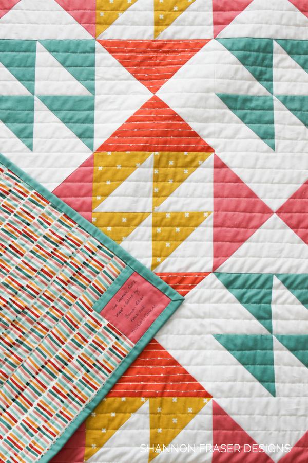 Modern Quilter's Review Juki TL-2010Q | Shannon Fraser Designs | Pink Lemonade Quilt Pattern