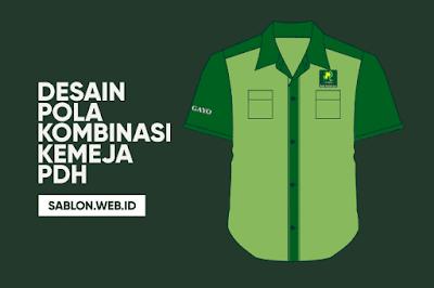 Pola Kombinasi Baju Kemeja BPR Syariah, Bank Mandiri dan Dinas Perhubungan