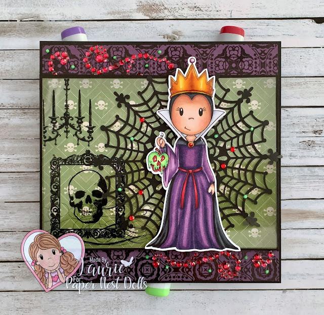 Evil Queen Card