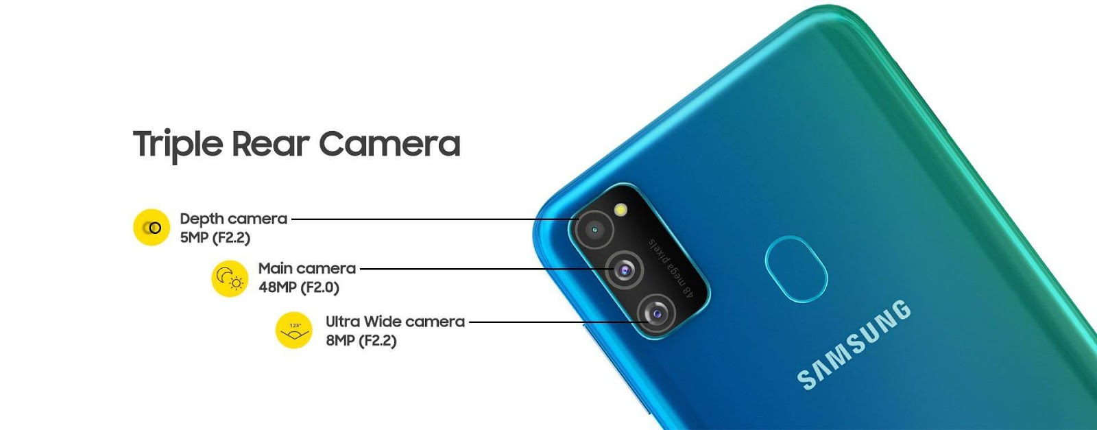 Samsung Galaxy M30s with Triple Camera