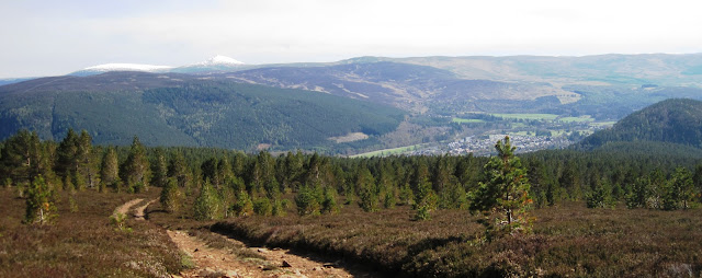 View of Ballater and Deeside