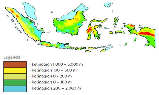 Kenampakan Alam Indonesia