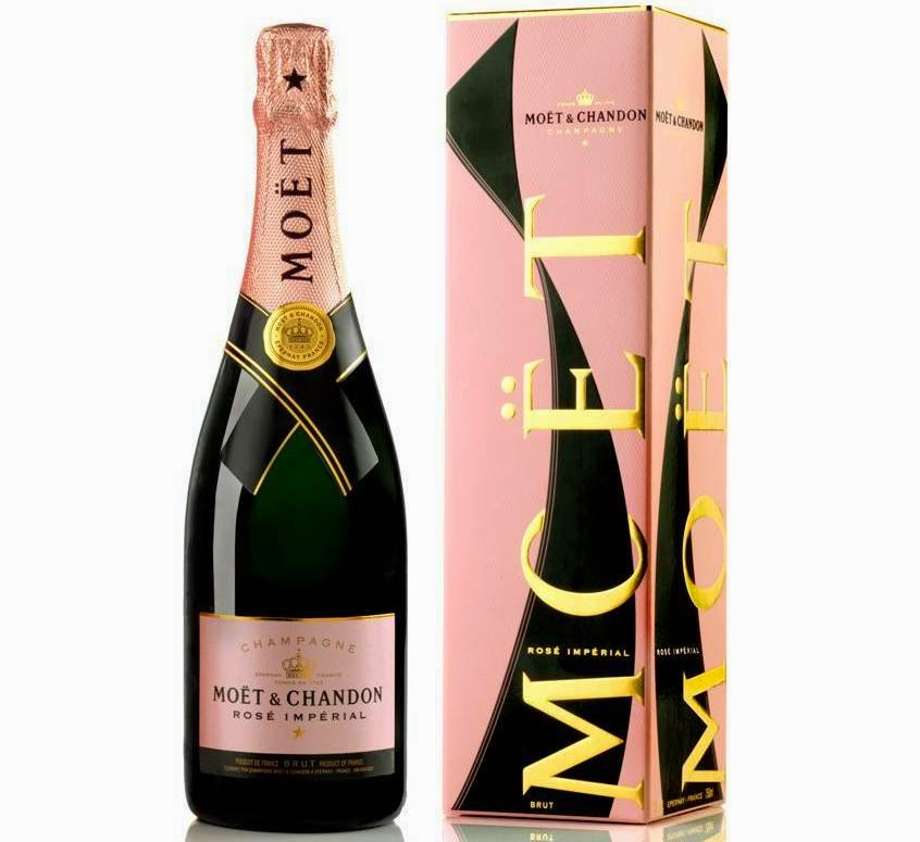 Moet Rose Imperial Unfurl the Tie, Moet & Chandon, Valentine's Day