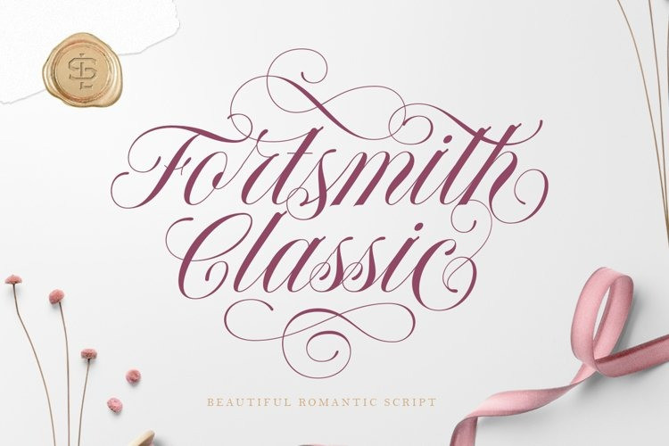 Forth Smith Font - Free Beautiful Script Typeface