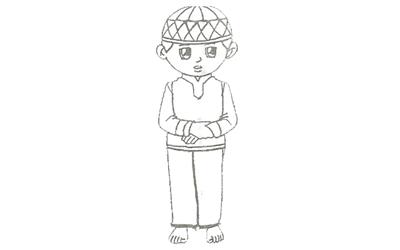 tutorial lengkap sholat ashar 4 rakaat