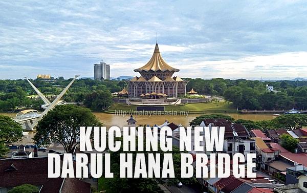 Darul Hana Bridge Kuching Sarawak